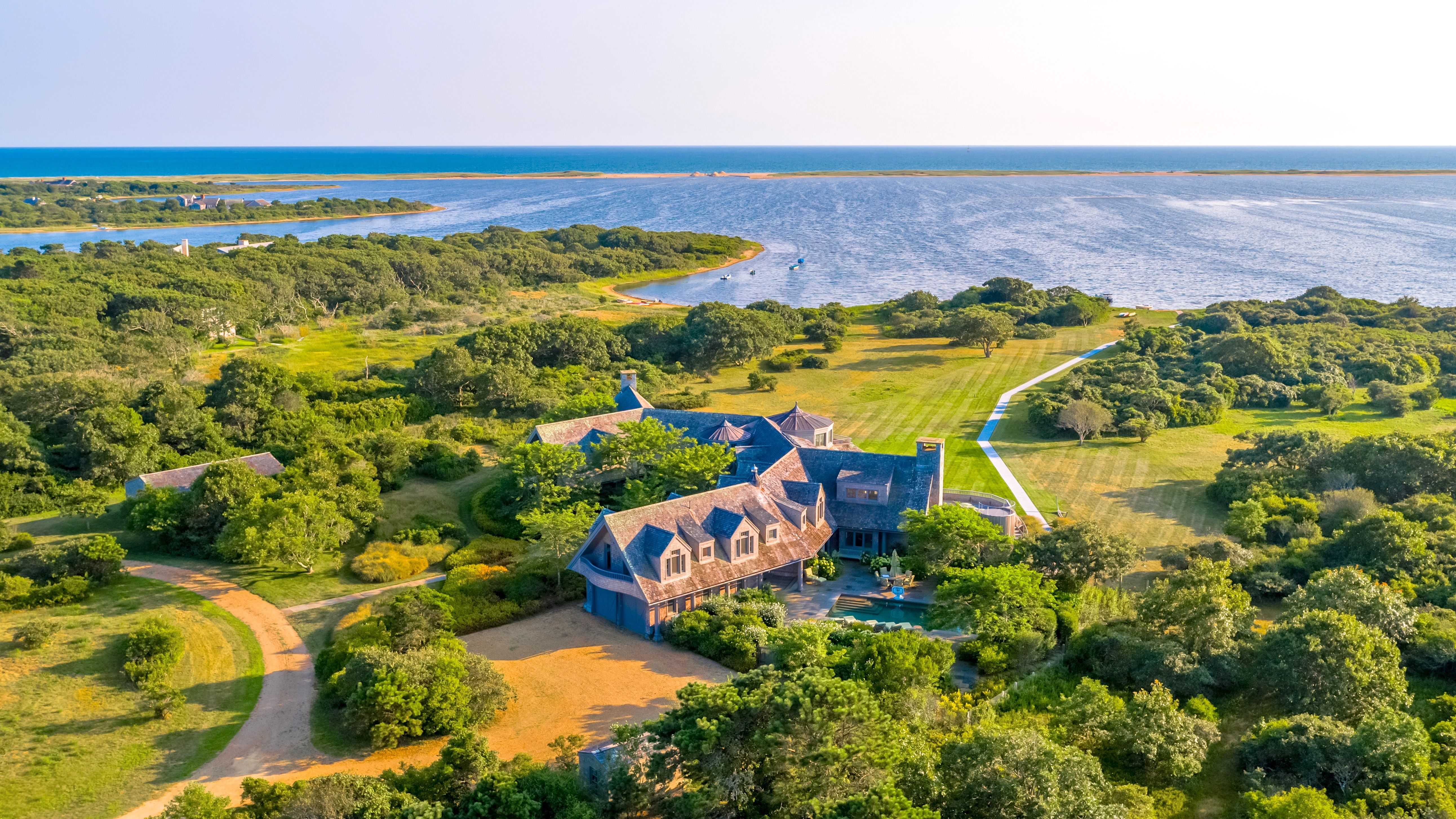 Single Family Home for Sale at 79 Turkeyland Cove Road Edgartown, Massachusetts,02539 United States