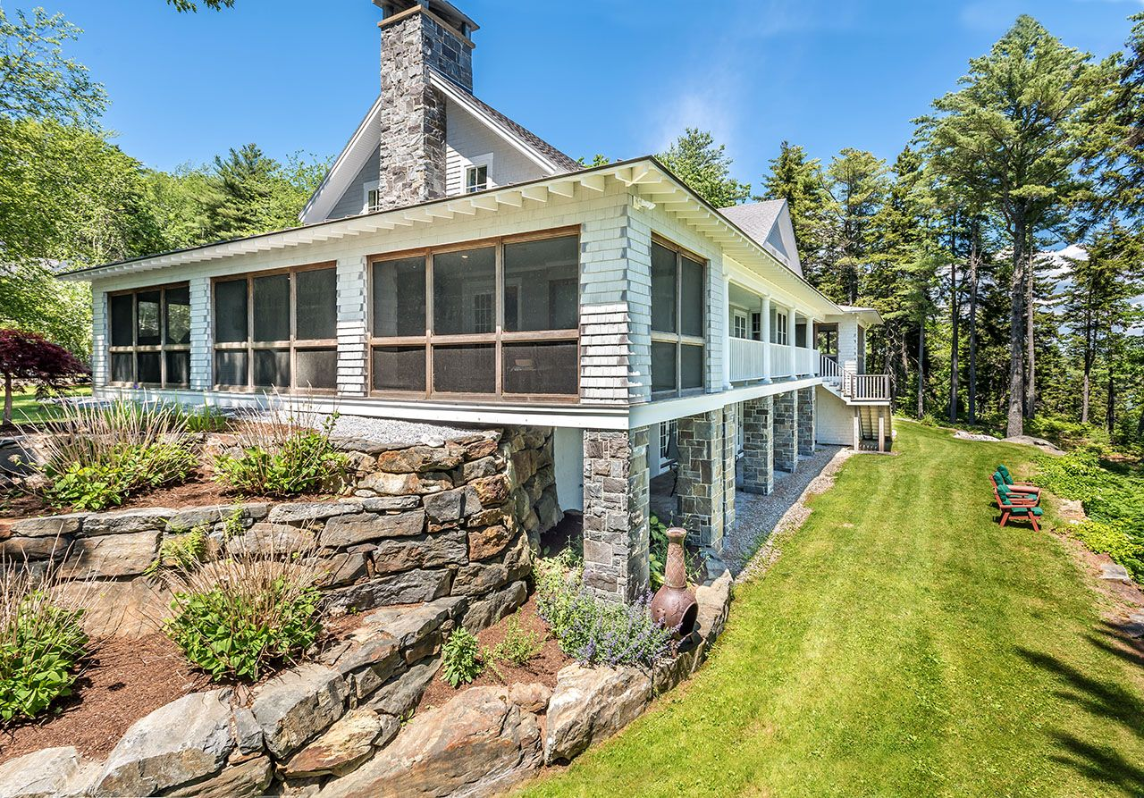 Additional photo for property listing at Carlisle Point Cottage 165 Steve's Boothbay, Maine,04537 États-Unis