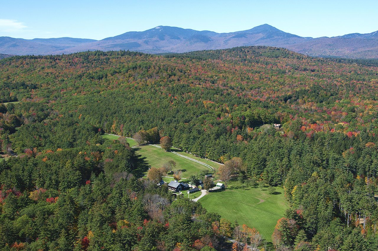 Maison unifamiliale pour l Vente à Fleetwood Farm 280 Cleveland Hill Rd Tamworth, New Hampshire,03886 États-Unis