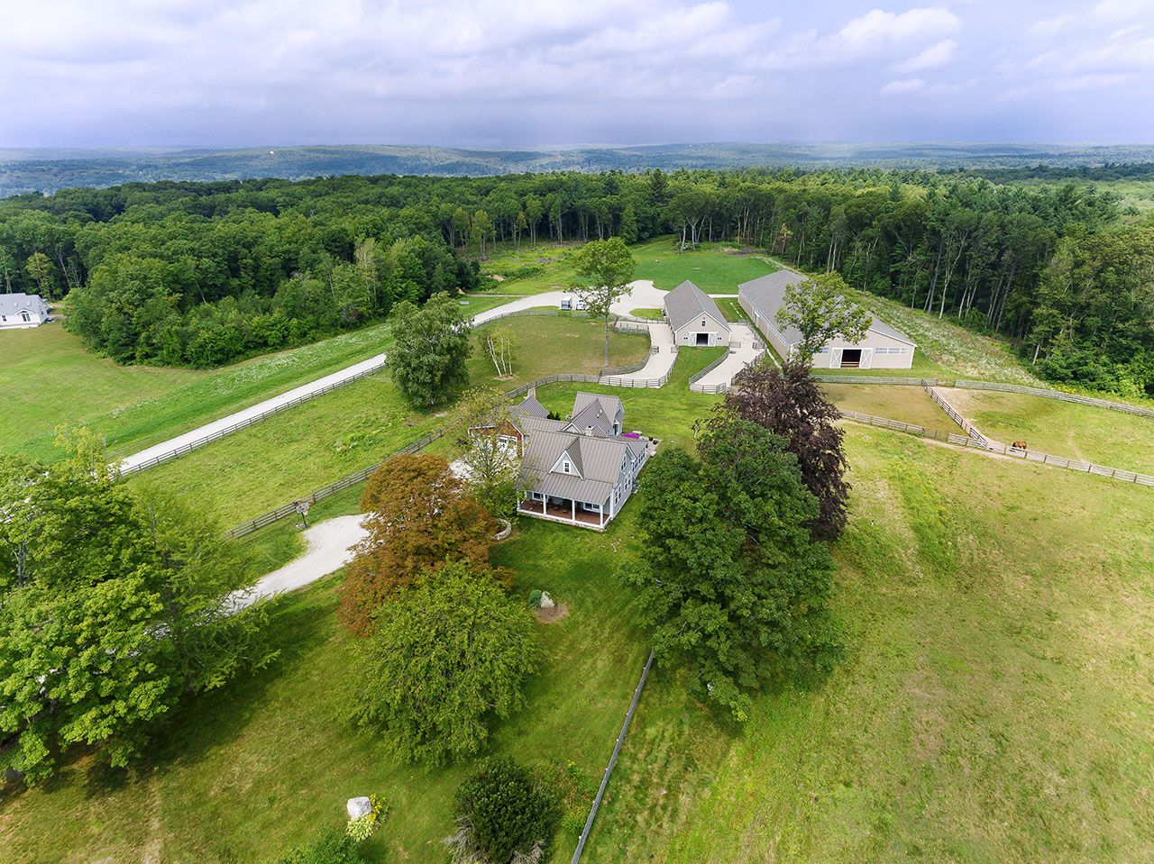 Single Family Home for Sale at Beau Cheval Farm 80 Prospect Street Upton, Massachusetts,01568 United States