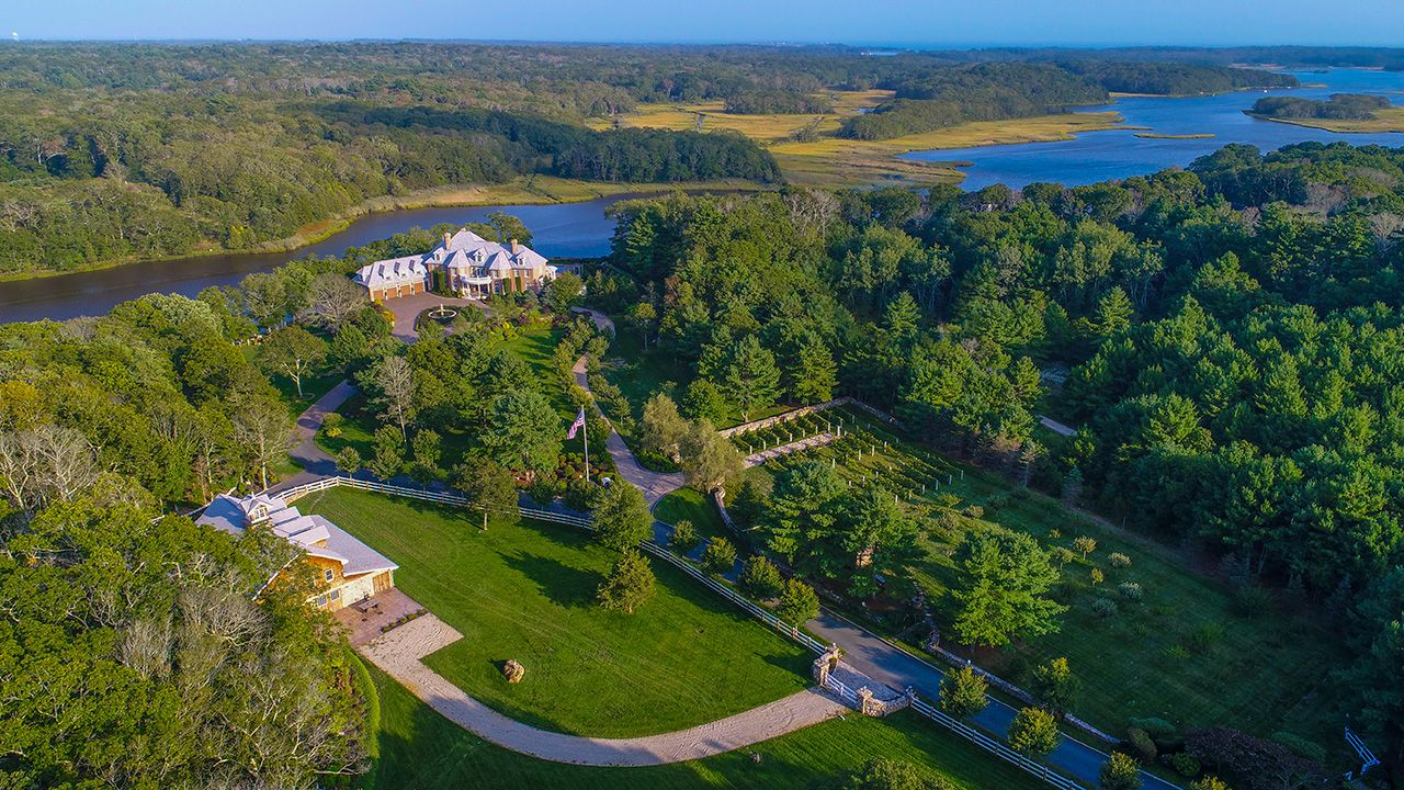 Single Family Home for Sale at Horseneck Equestrian Estate 150 Horseneck South Dartmouth, Massachusetts,02748 United States