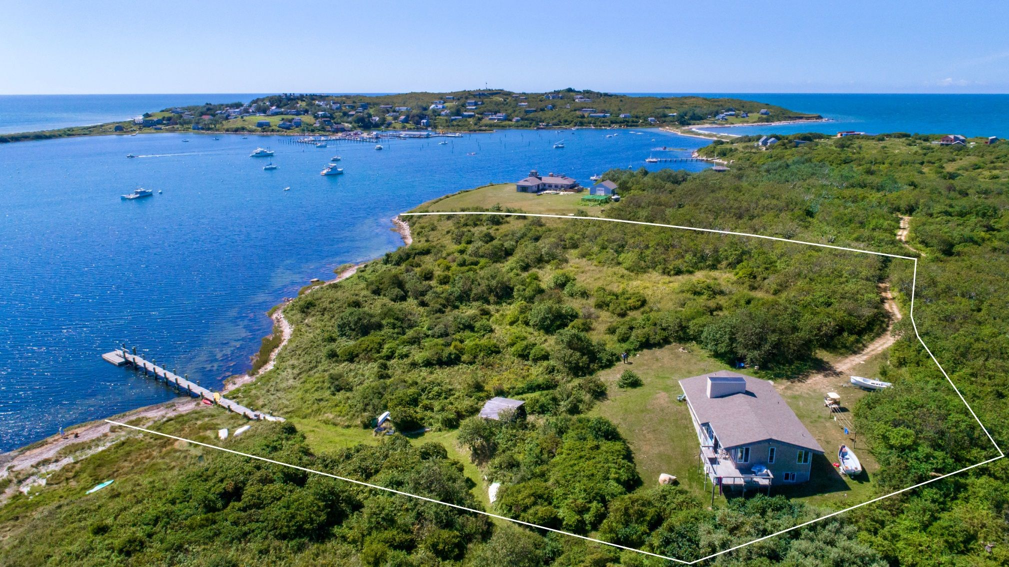 Single Family Home for Sale at Copicut Neck Waterfront 100 Blue Heron Drive Gosnold, Massachusetts,02713 United States