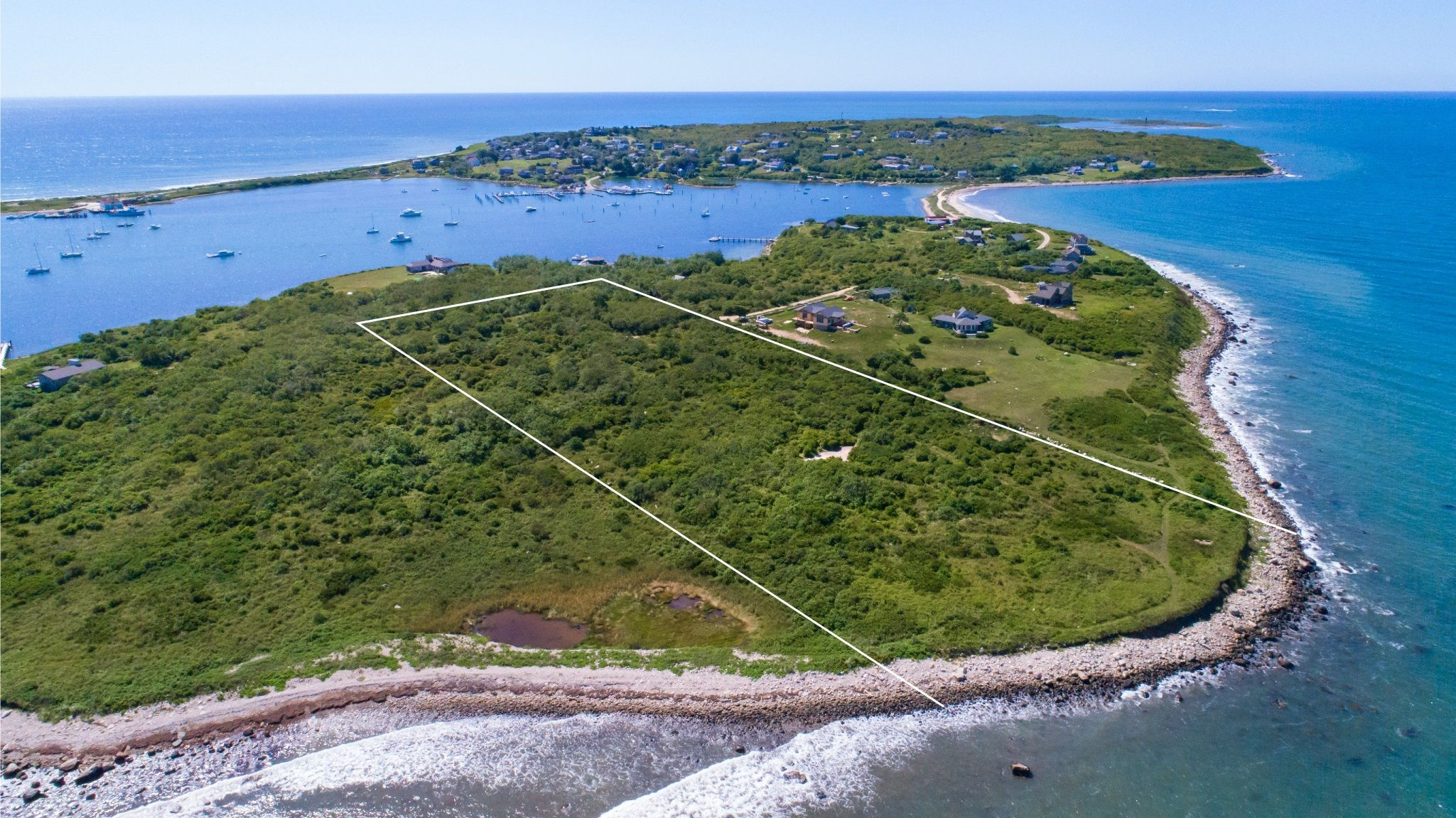 Single Family Home for Sale at Buzzards Bay Waterfront Lot 0 Blue Heron Drive Gosnold, Massachusetts,02713 United States