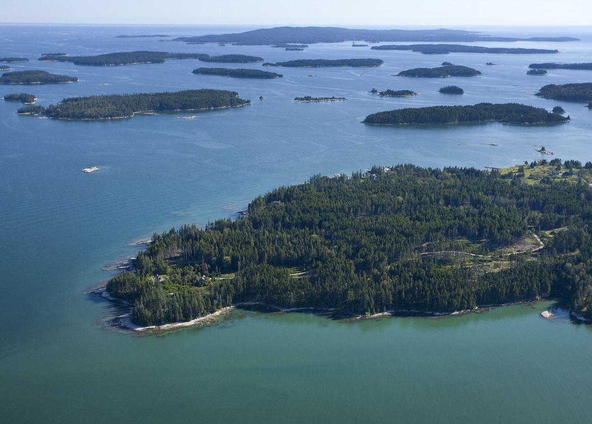 Single Family Home for Sale at Muir Point 26 Muir Woods Stonington, Maine,04681 United States