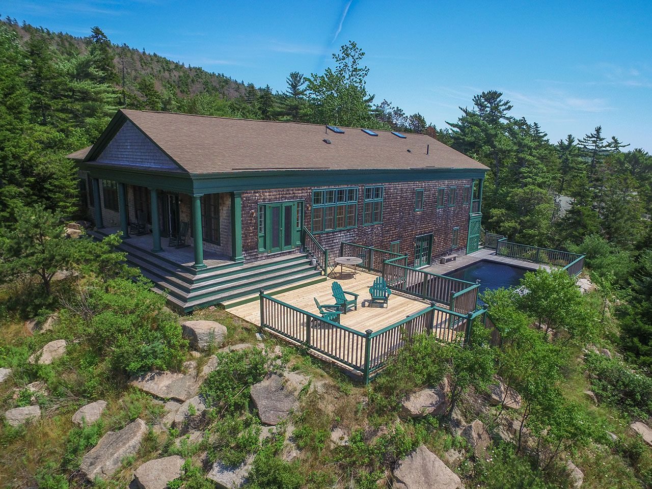 Additional photo for property listing at Sumner House 73 Sargeant Northeast Harbor, Maine,04662 United States