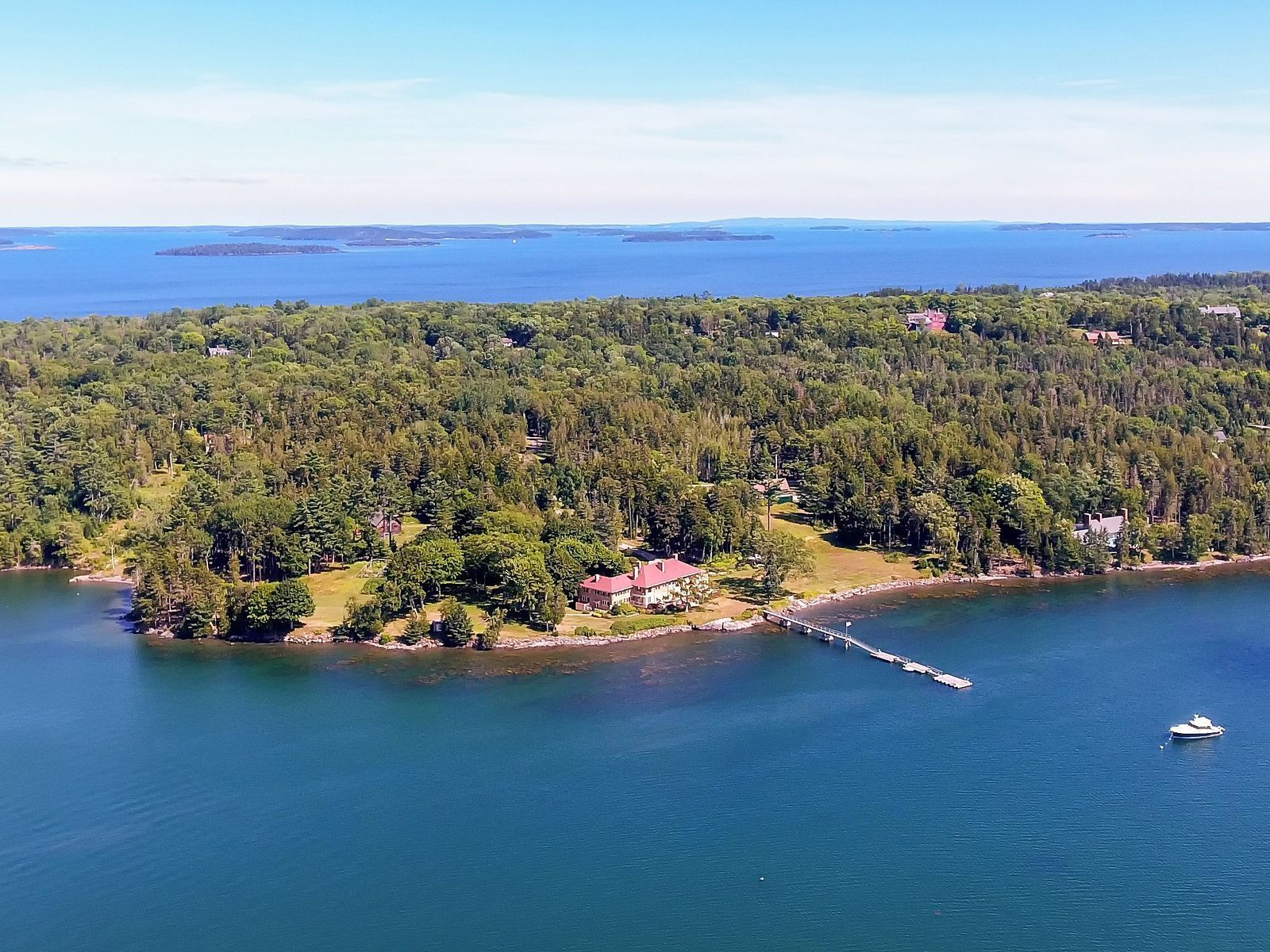 Sears Cottage A Luxury Home For Sale In Islesboro Waldo County
