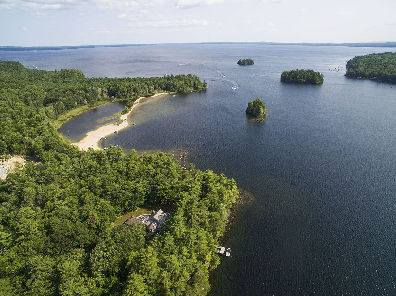 Single Family Home for Sale at Common Way on Sebago Lake 29 Common Way Road Naples, Maine,04055 United States