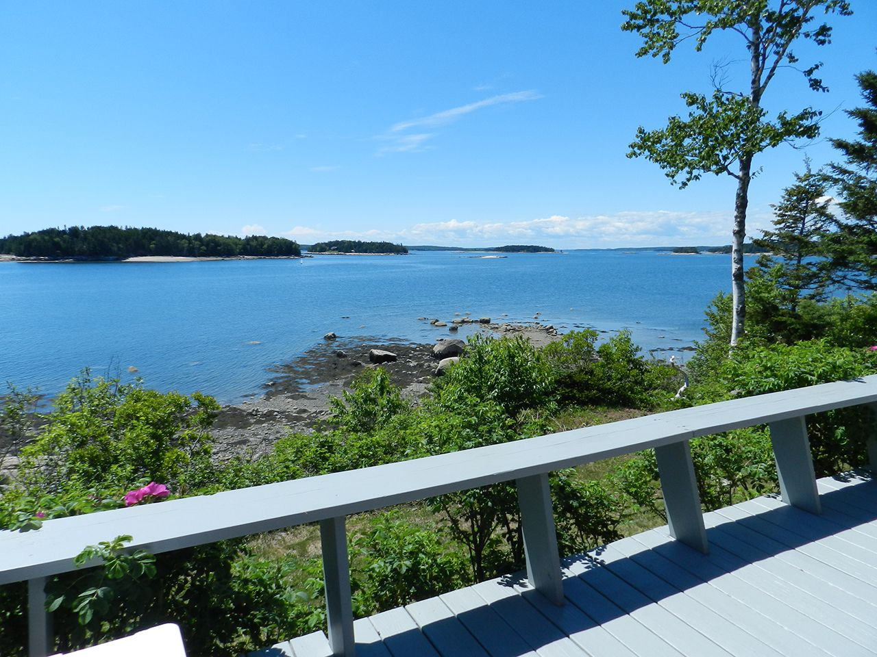 Villa per Vendita alle ore Kelley Point 73 Kelley Point Drive Brooklin, Maine,04616 Stati Uniti