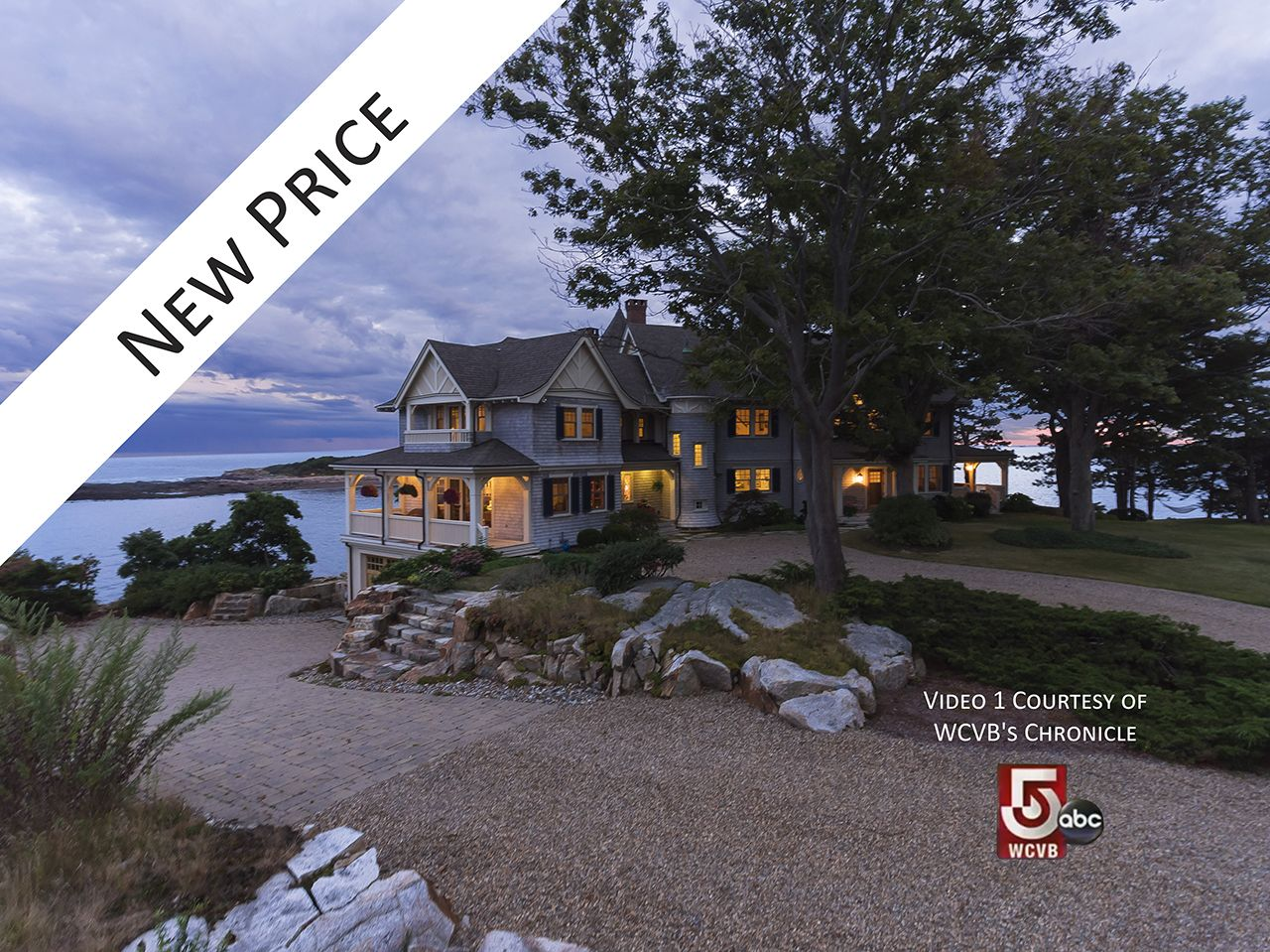 Single Family Home for Sale at Coolidge Point Oceanfront 35 Coolidge Point Manchester, Massachusetts,01944 United States