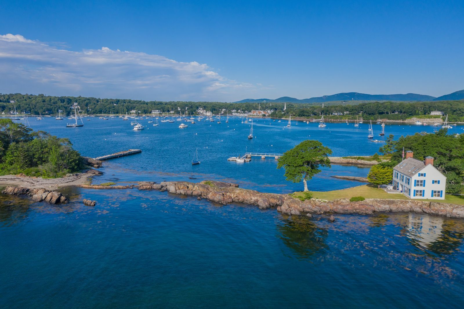 Single Family Home for Sale at Northeast Point 144 Sherman's Point Road Camden, Maine,04843 United States