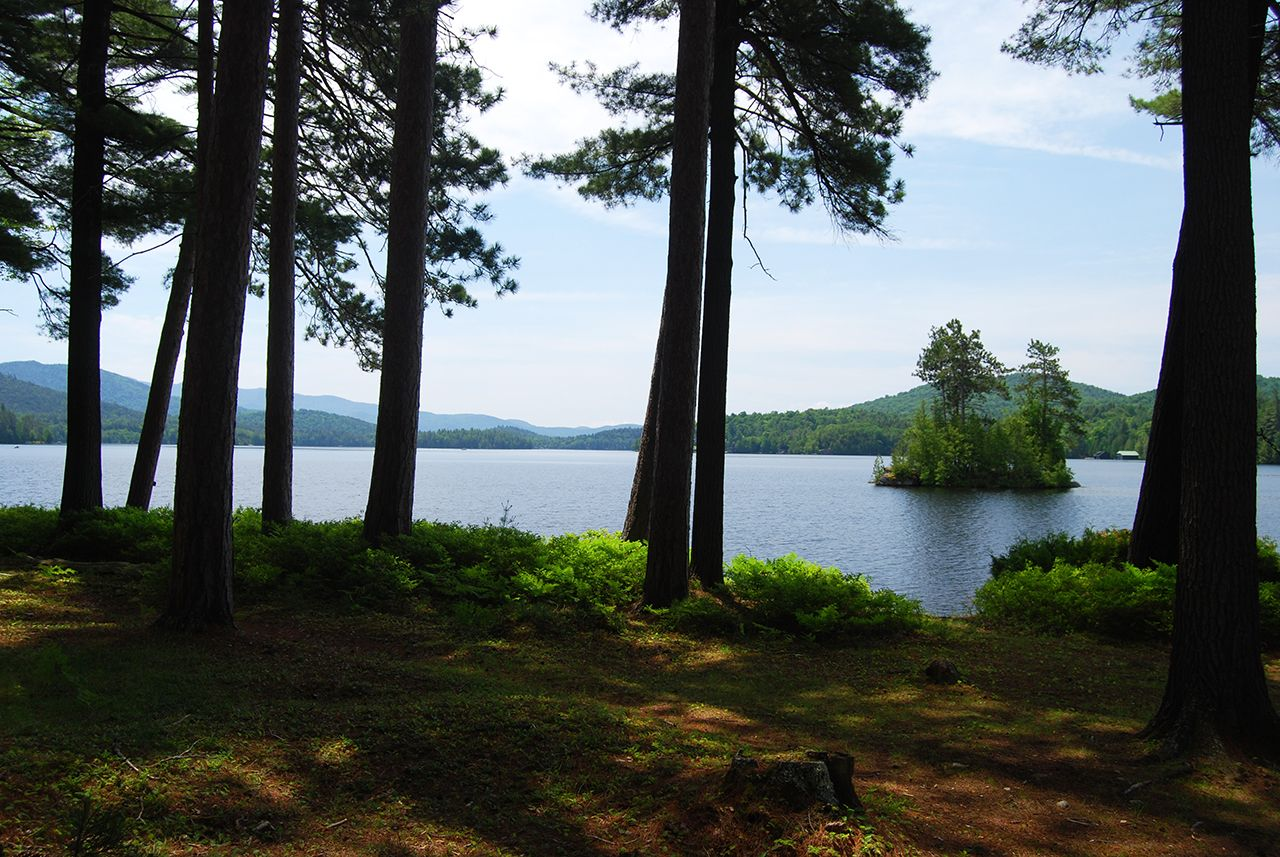 Additional photo for property listing at Bircholm on Upper Saranac Lake 0 Deer Island Tupper Lake, 뉴욕,12986 미국
