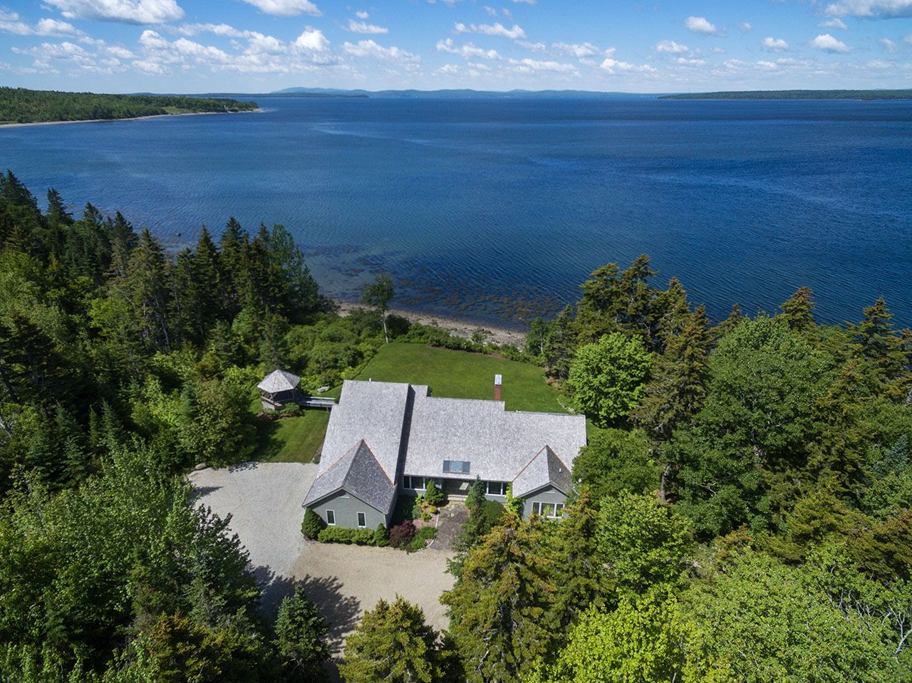 Single Family Home for Sale at Black Duck Estate 138 Black Duck Castine, Maine,04420 United States
