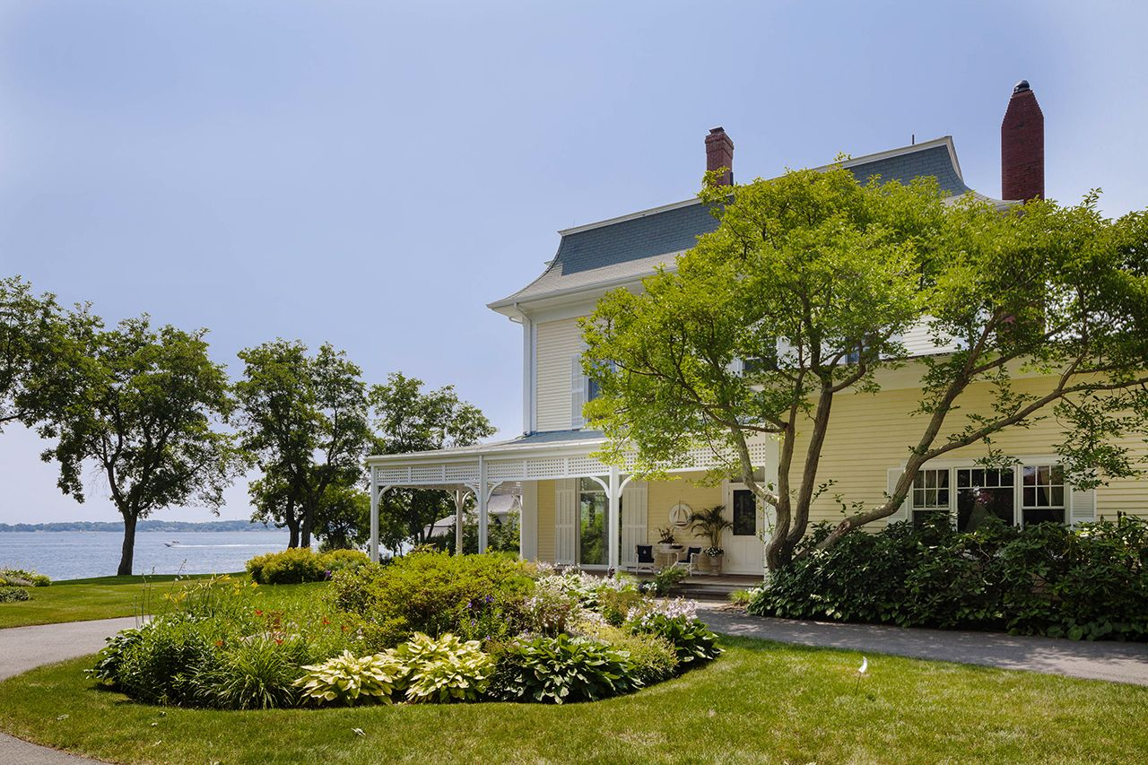 Single Family Home for Sale at Beverly Cove Oceanfront 9 Curtis Point Beverly, Massachusetts,01915 United States