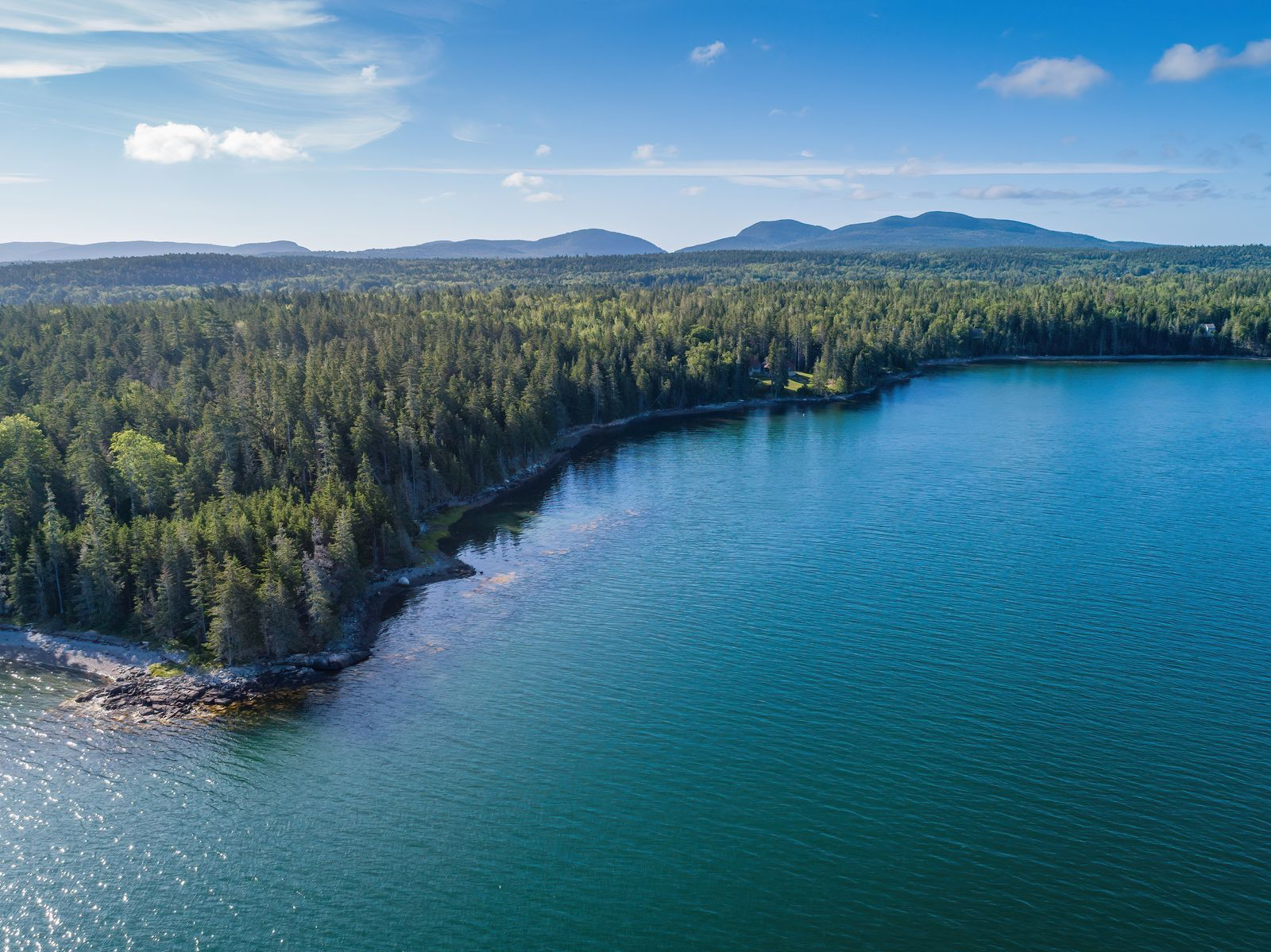 Single Family Home for Sale at Western Bay Waterfront 00 Pepper Point Mount Desert, Maine,04660 United States