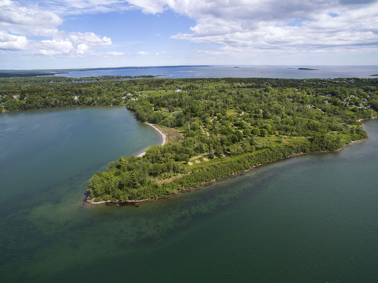 Single Family Home for Sale at Bond Point Waterfront Land 1 Bond Point Road Harpswell, Maine,04079 United States