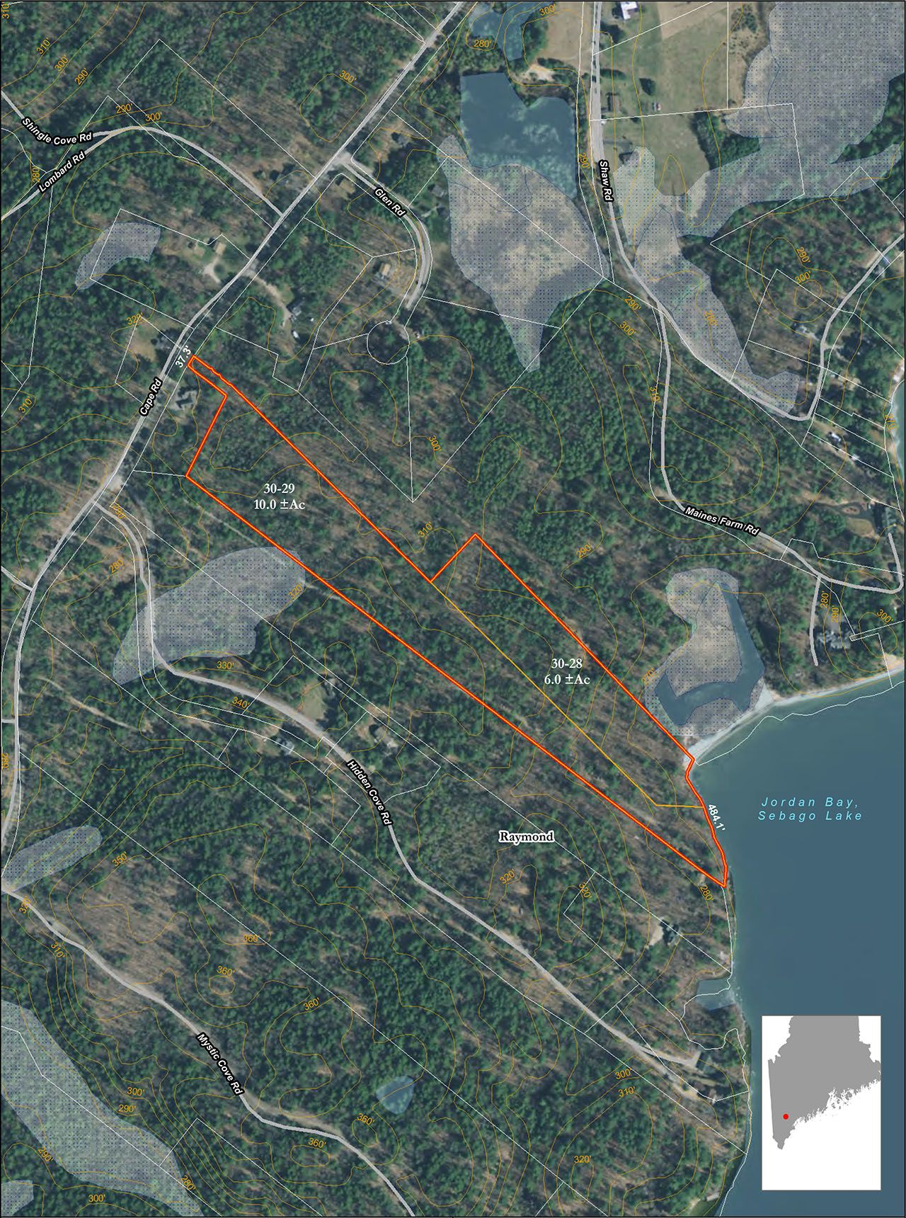 Single Family Home for Sale at Cape Road Lakefront Land 0 Cape Road Raymond, Maine,04071 United States