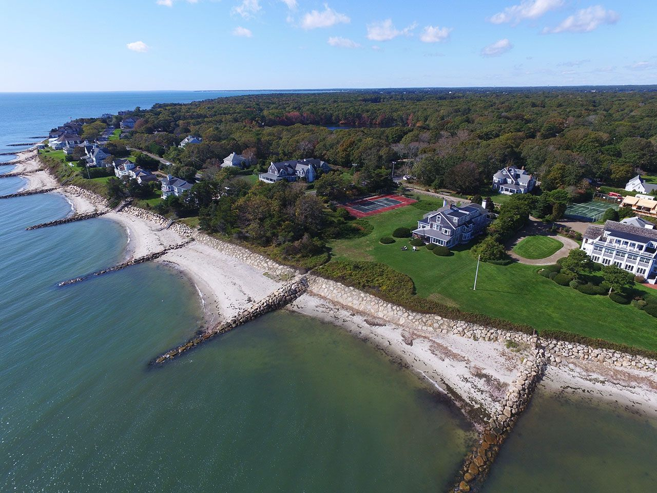 Single Family Home for Sale at Wianno Waterfront Estate 554 Wianno Osterville, Massachusetts,02655 United States