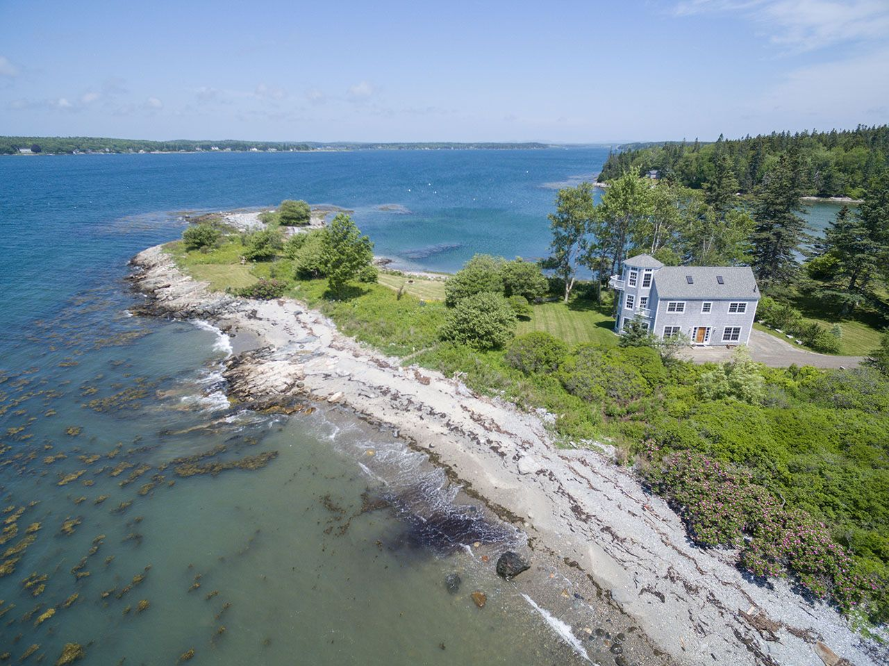 Single Family Home for Sale at Crazy Point Lane 13 Crazy Point St. George, Maine,04860 United States