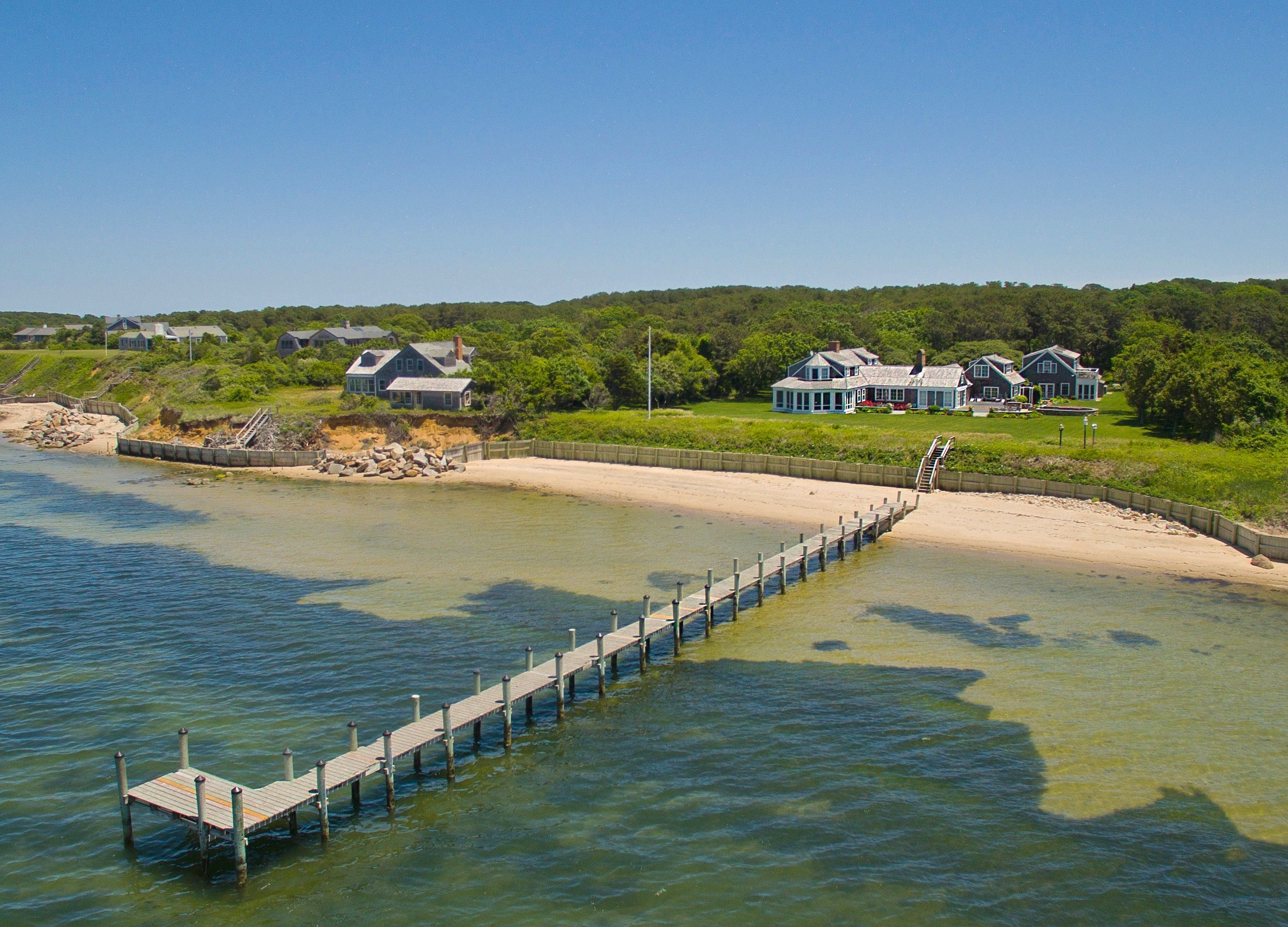 Single Family Home for Sale at 55 North Neck Road 55 North Neck Road Edgartown, Massachusetts,02539 United States